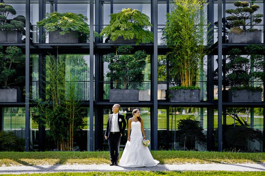 Hochzeitsfotos Botanischer Garten Karlsruhe Hochzeitsfotograf